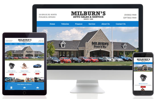 Milburn Auto Sales powered by EZ Results
